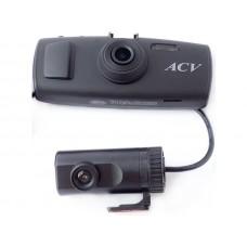 ACV GQ-6 видеорегистратор DUO, 2 камеры, HD-дисплей